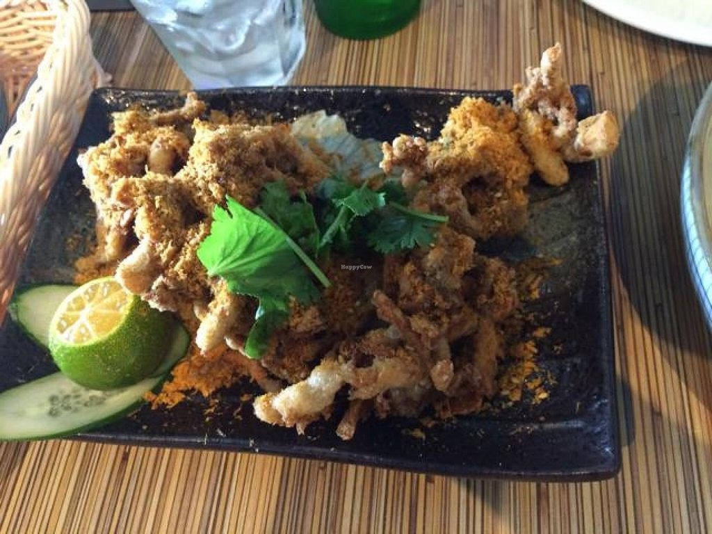 """Photo of Beyond Veggie by Secret Recipe - Kunjin Central  by <a href=""""/members/profile/tardis3"""">tardis3</a> <br/>deep fried shredded mushroom  <br/> October 7, 2014  - <a href='/contact/abuse/image/51935/82390'>Report</a>"""