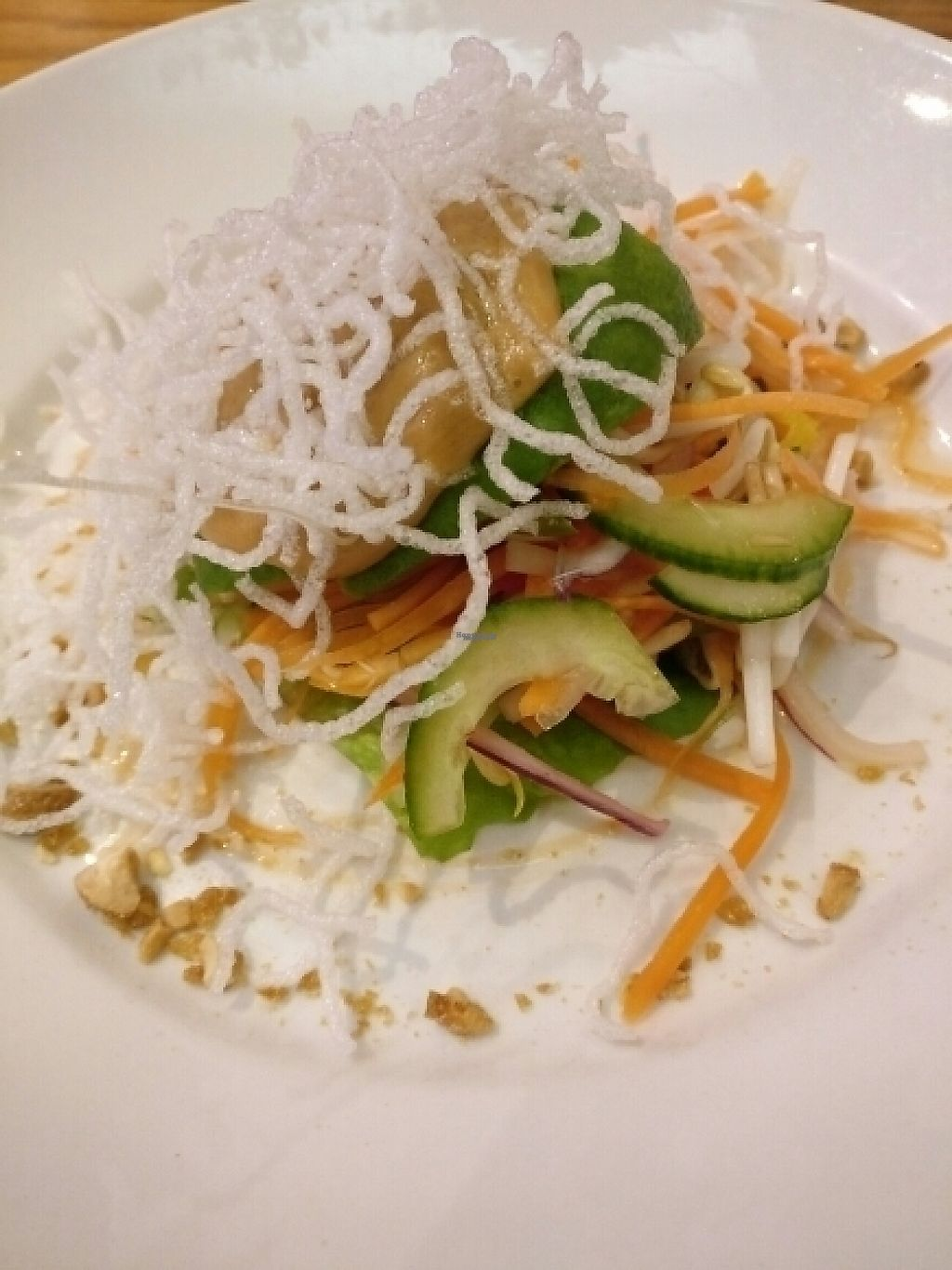 "Photo of Red Onion  by <a href=""/members/profile/Agadooska"">Agadooska</a> <br/>Avocado and peanut starter with crispy noodles.  <br/> January 18, 2017  - <a href='/contact/abuse/image/51936/213037'>Report</a>"