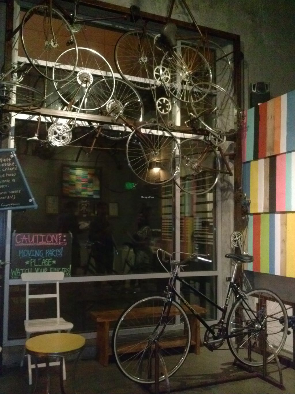 """Photo of Peddler's Creamery  by <a href=""""/members/profile/Sonja%20and%20Dirk"""">Sonja and Dirk</a> <br/>bicycles <br/> August 10, 2015  - <a href='/contact/abuse/image/51962/113027'>Report</a>"""