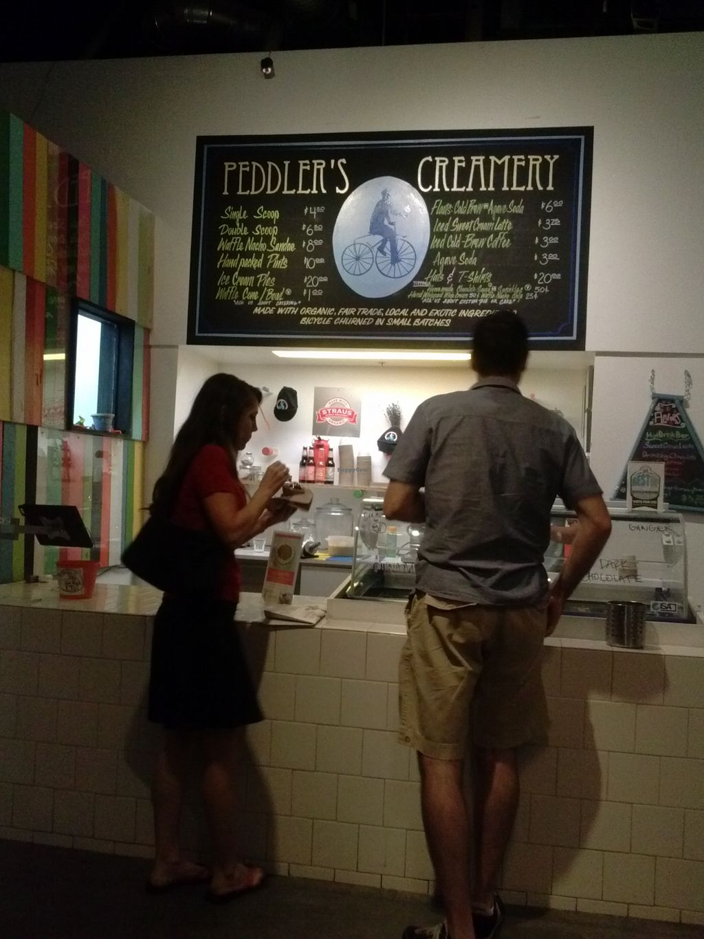 """Photo of Peddler's Creamery  by <a href=""""/members/profile/Sonja%20and%20Dirk"""">Sonja and Dirk</a> <br/>counter <br/> August 10, 2015  - <a href='/contact/abuse/image/51962/113028'>Report</a>"""