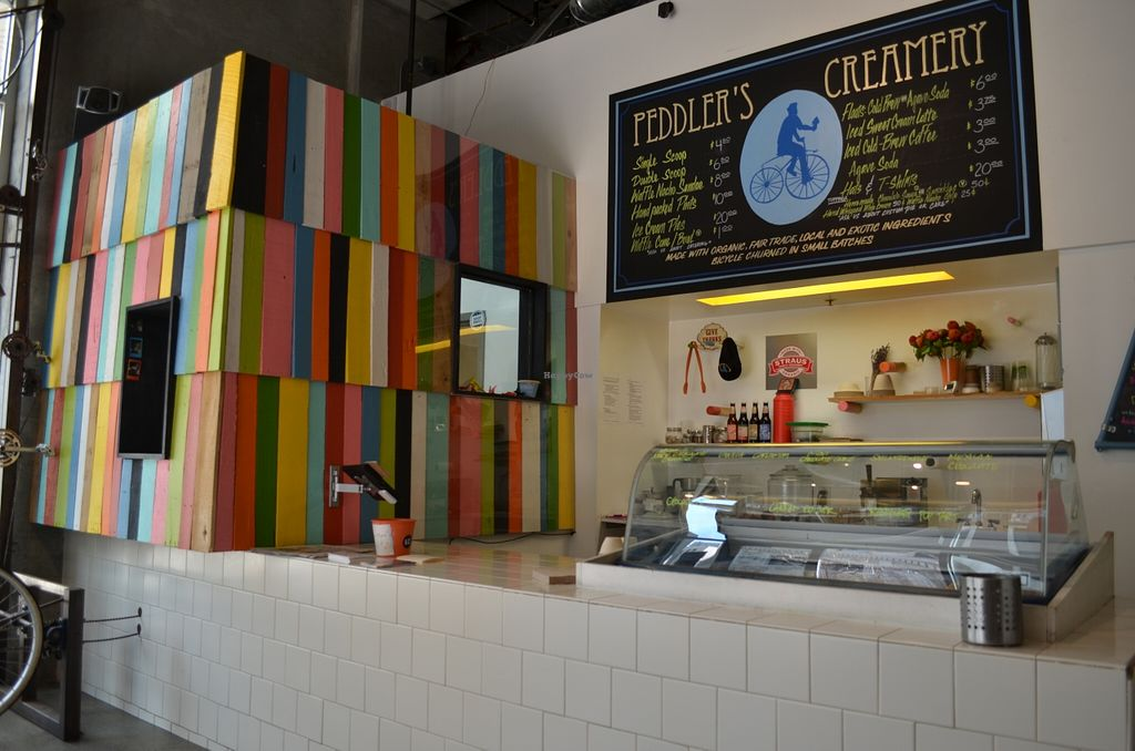 """Photo of Peddler's Creamery  by <a href=""""/members/profile/alexandra_vegan"""">alexandra_vegan</a> <br/>The shop <br/> May 4, 2016  - <a href='/contact/abuse/image/51962/147451'>Report</a>"""