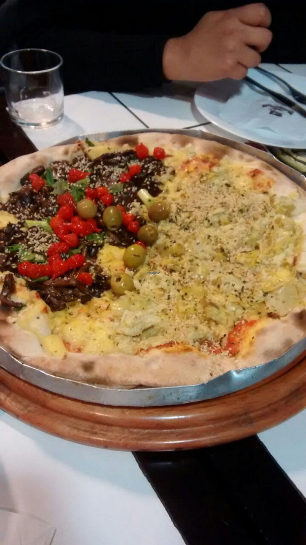 """Photo of Barao Natural - Baraozinho  by <a href=""""/members/profile/Sylvane"""">Sylvane</a> <br/>Great Vegan Pizza !!! <br/> August 22, 2016  - <a href='/contact/abuse/image/51963/170703'>Report</a>"""