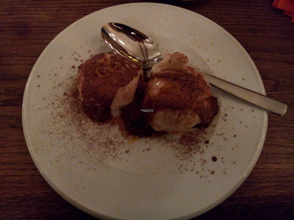 """Photo of CLOSED: De Zuidkant  by <a href=""""/members/profile/RavenW"""">RavenW</a> <br/>Dessert: soy ice cream with chocolate sauce and orange <br/> October 23, 2016  - <a href='/contact/abuse/image/51967/183900'>Report</a>"""