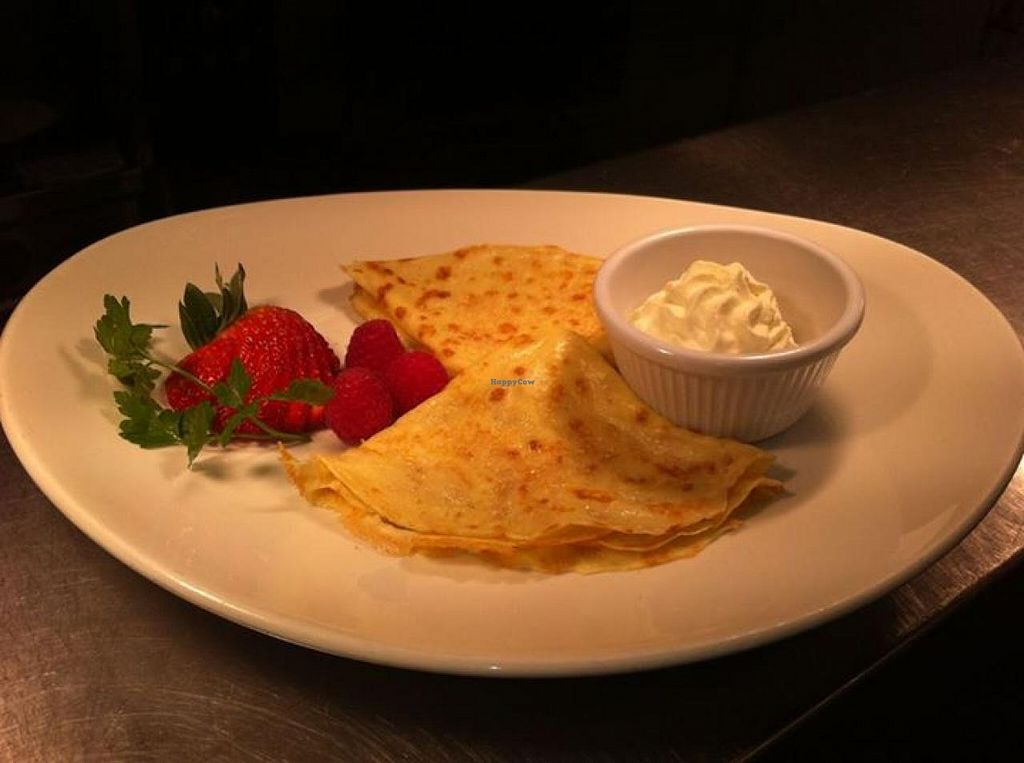 "Photo of Corner Note Cafe  by <a href=""/members/profile/community"">community</a> <br/>Pancake with Mixed Berry & Cream <br/> October 9, 2014  - <a href='/contact/abuse/image/51984/82487'>Report</a>"