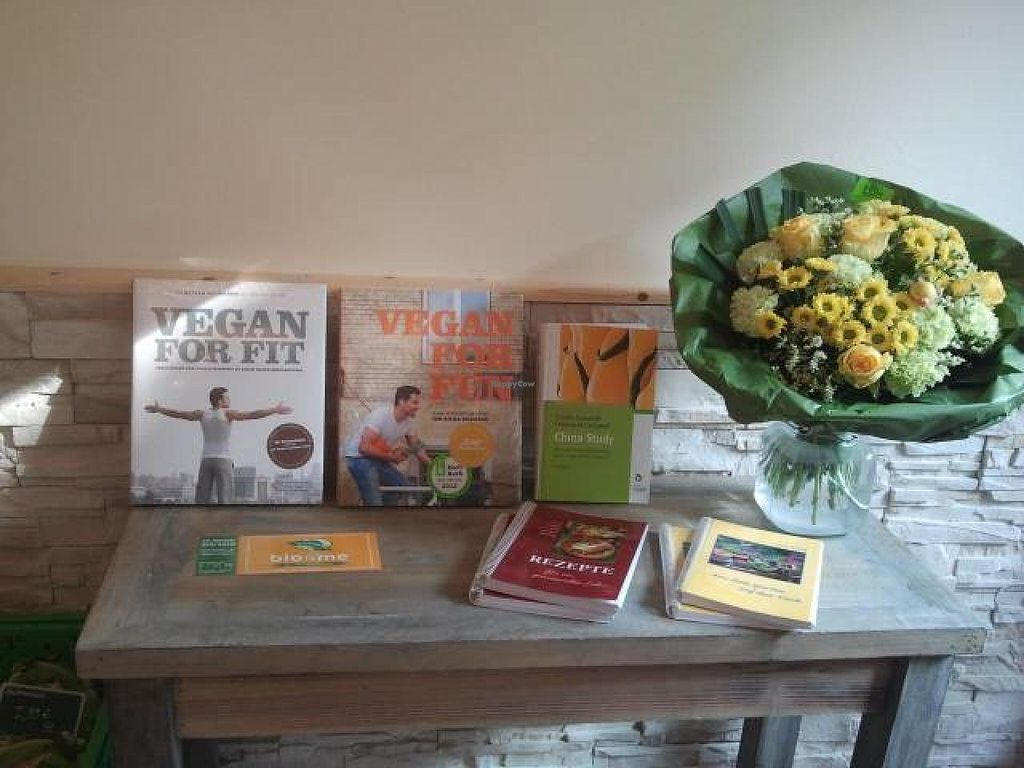 """Photo of CLOSED: bio4me  by <a href=""""/members/profile/SandraPauly"""">SandraPauly</a> <br/>Vegan cooking books <br/> October 10, 2014  - <a href='/contact/abuse/image/52008/82526'>Report</a>"""