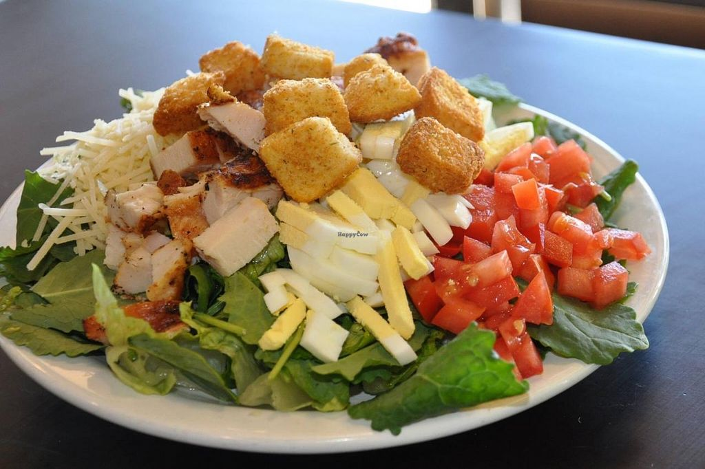 "Photo of Salad Shoppe  by <a href=""/members/profile/Grubguy"">Grubguy</a> <br/>Kale Caesar on their menu as atodays special <br/> March 19, 2015  - <a href='/contact/abuse/image/52026/96187'>Report</a>"