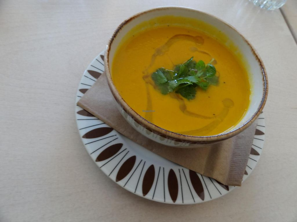 "Photo of GOTT  by <a href=""/members/profile/missLape"">missLape</a> <br/>Tasty vegan soup <br/> October 14, 2014  - <a href='/contact/abuse/image/52040/82940'>Report</a>"