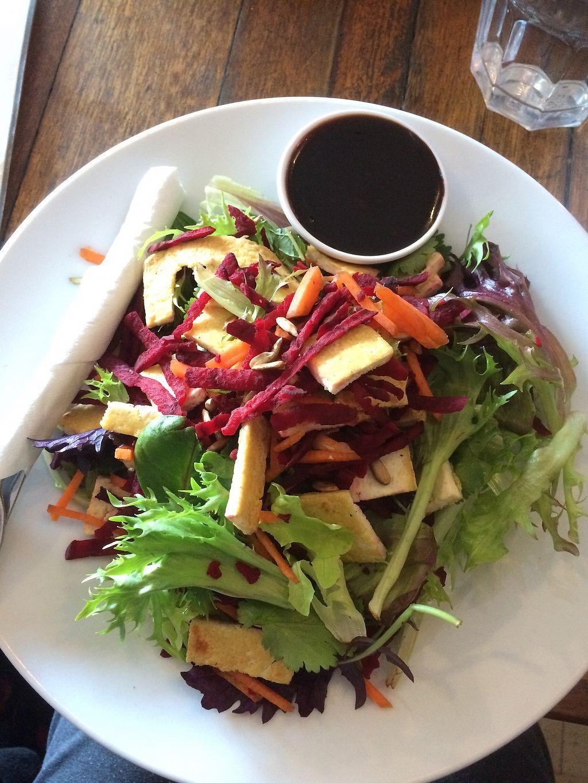 "Photo of Foodarama  by <a href=""/members/profile/alia_801"">alia_801</a> <br/>Tofu salad <br/> September 7, 2017  - <a href='/contact/abuse/image/52108/301880'>Report</a>"