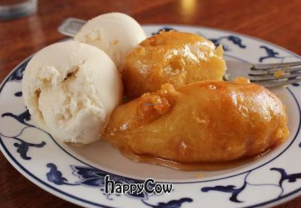 """Photo of Vegegarden  by <a href=""""/members/profile/Aria%20loves%20animals"""">Aria loves animals</a> <br/>Fried banana with vanilla ice cream...Tastes like heaven <br/> March 27, 2013  - <a href='/contact/abuse/image/5210/244160'>Report</a>"""