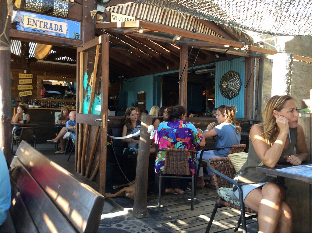 """Photo of Ona Cafe and Terrassa  by <a href=""""/members/profile/peterm2"""">peterm2</a> <br/>Out door chillin in this layer back beach bar <br/> September 5, 2017  - <a href='/contact/abuse/image/52123/301182'>Report</a>"""