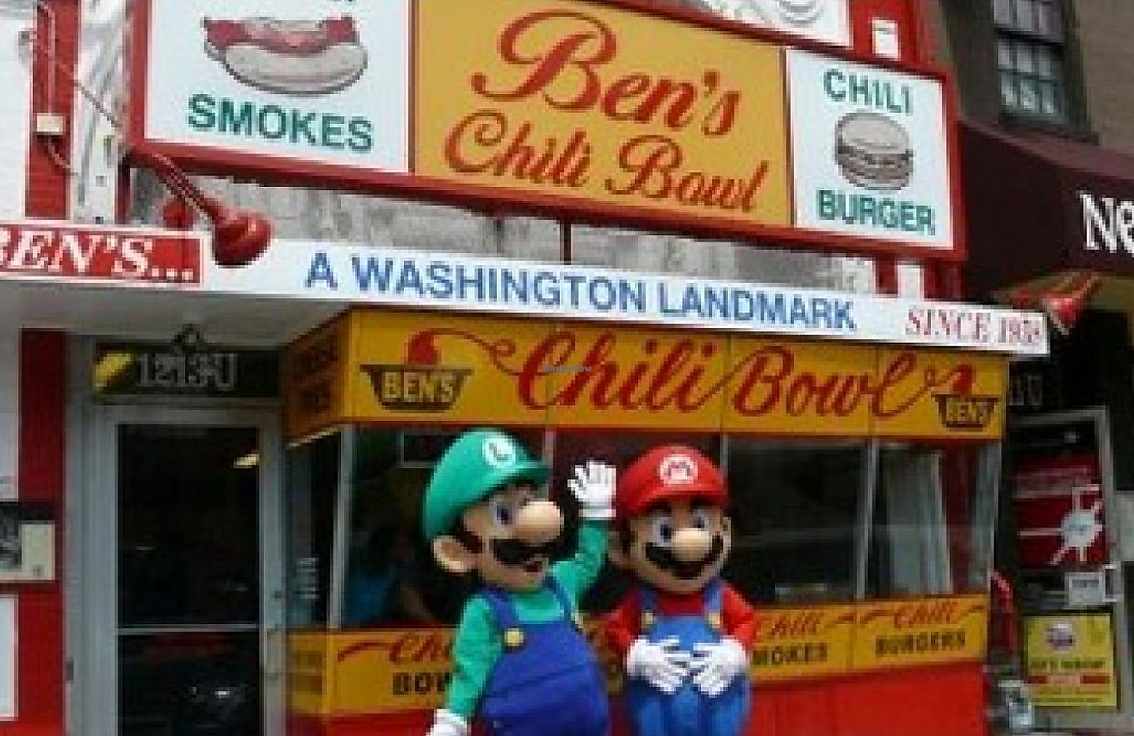 """Photo of Ben's Chili Bowl  by <a href=""""/members/profile/community"""">community</a> <br/>Ben's Chili Bowl <br/> October 10, 2014  - <a href='/contact/abuse/image/52127/191624'>Report</a>"""