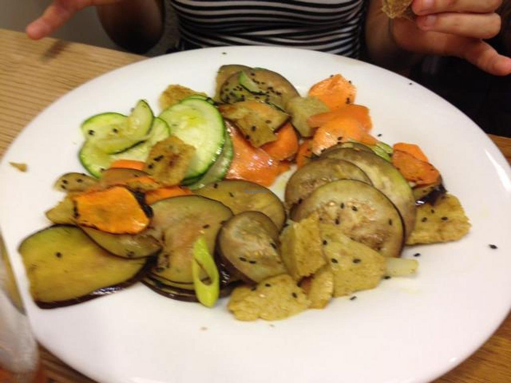 """Photo of Km.0  by <a href=""""/members/profile/Duo"""">Duo</a> <br/>seitan with vegetables <br/> October 19, 2014  - <a href='/contact/abuse/image/52139/83364'>Report</a>"""