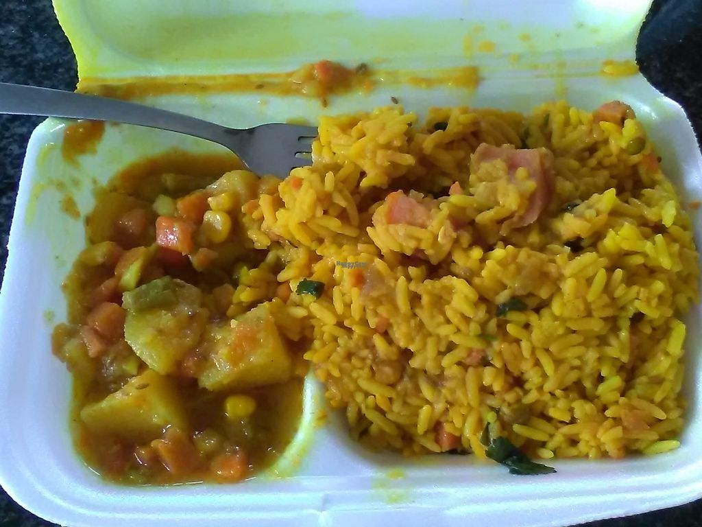 """Photo of Kara Nichha's - Midrand  by <a href=""""/members/profile/Wolfmoon"""">Wolfmoon</a> <br/>Breyani rice with potatoes and sauce <br/> April 2, 2017  - <a href='/contact/abuse/image/52148/244021'>Report</a>"""