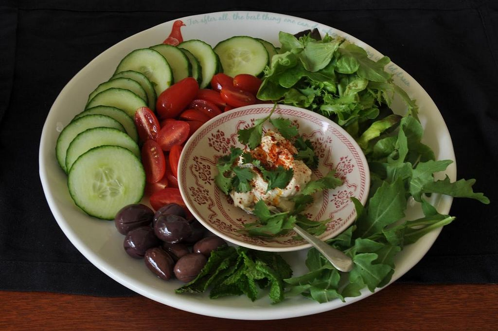"""Photo of Joburg Vegan  by <a href=""""/members/profile/lilliebliss"""">lilliebliss</a> <br/>Photo of raw veg and home made hummus <br/> October 12, 2014  - <a href='/contact/abuse/image/52149/82742'>Report</a>"""