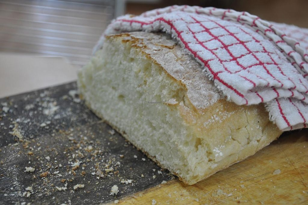 """Photo of Joburg Vegan  by <a href=""""/members/profile/lilliebliss"""">lilliebliss</a> <br/>Photo of fresh vegan ciabatta <br/> October 12, 2014  - <a href='/contact/abuse/image/52149/82743'>Report</a>"""