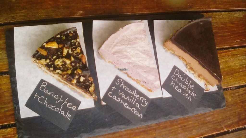 "Photo of The Veggie Deli Coffee Shop  by <a href=""/members/profile/Meaks"">Meaks</a> <br/> Vegan, Gluten Free, Sugar Free, Raw Cheesecakes <br/> August 2, 2016  - <a href='/contact/abuse/image/52154/164513'>Report</a>"