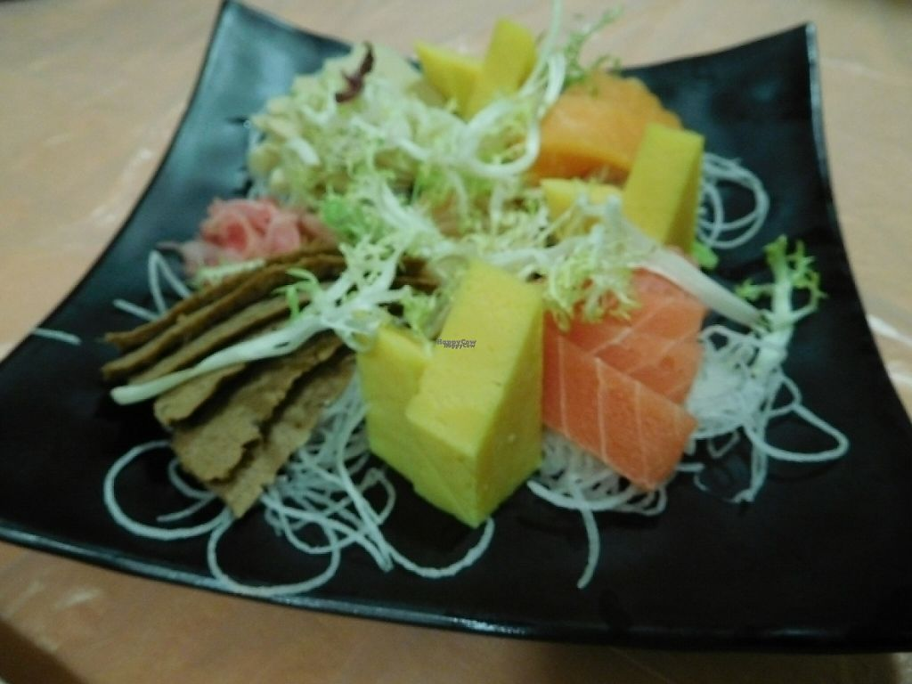 """Photo of Meet At Sakura Veggie  by <a href=""""/members/profile/EvelynHo"""">EvelynHo</a> <br/>sashimi <br/> November 27, 2016  - <a href='/contact/abuse/image/52169/195202'>Report</a>"""