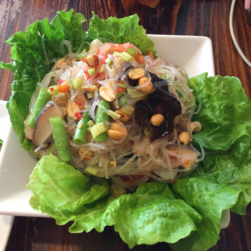 "Photo of Thai Vegetarian Food  by <a href=""/members/profile/htenbos"">htenbos</a> <br/>noodle salad <br/> November 6, 2016  - <a href='/contact/abuse/image/52173/186820'>Report</a>"