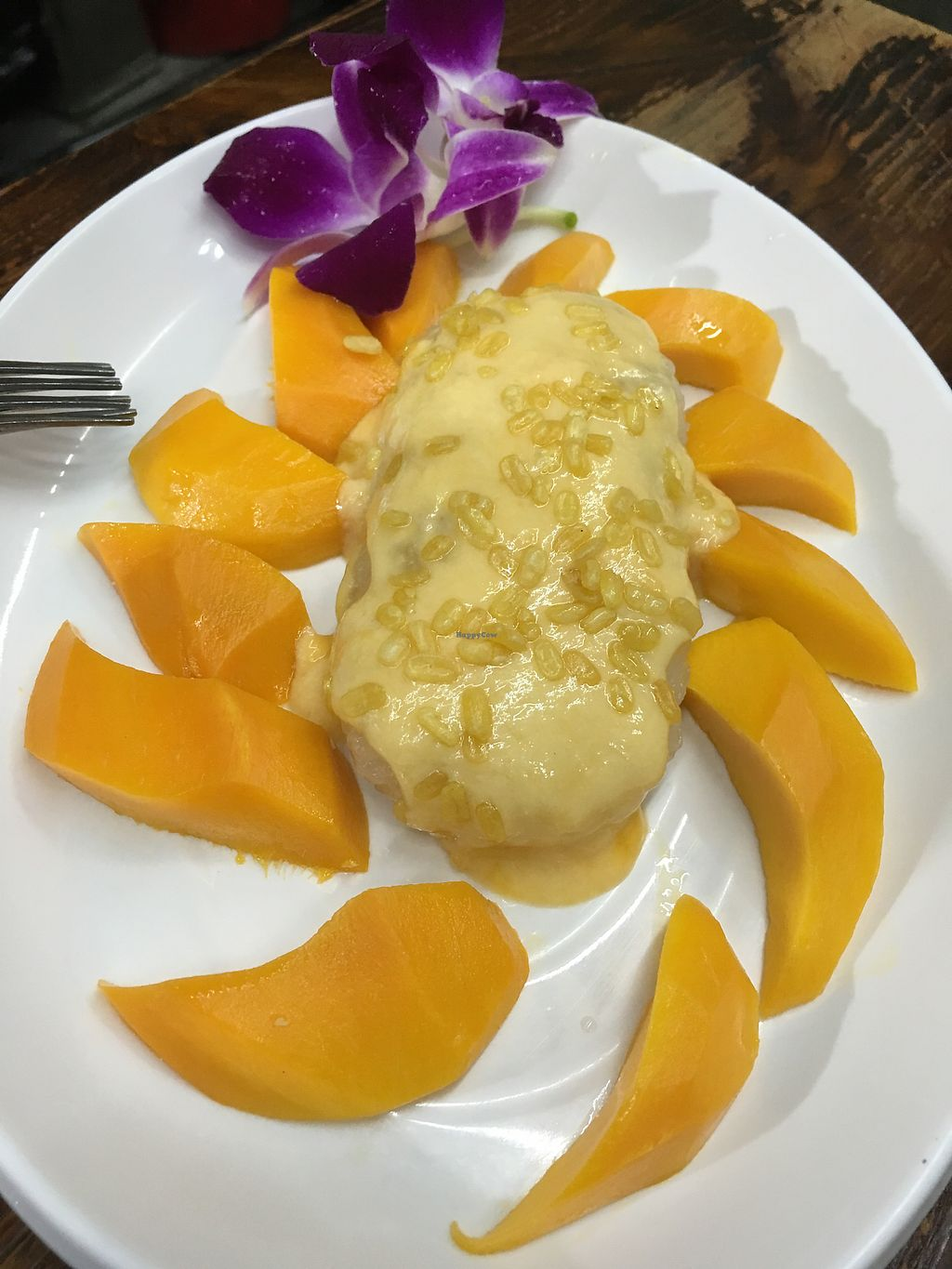 "Photo of Thai Vegetarian Food  by <a href=""/members/profile/Veg4Jay"">Veg4Jay</a> <br/>Mango Sticky Rice <br/> April 15, 2018  - <a href='/contact/abuse/image/52173/386264'>Report</a>"