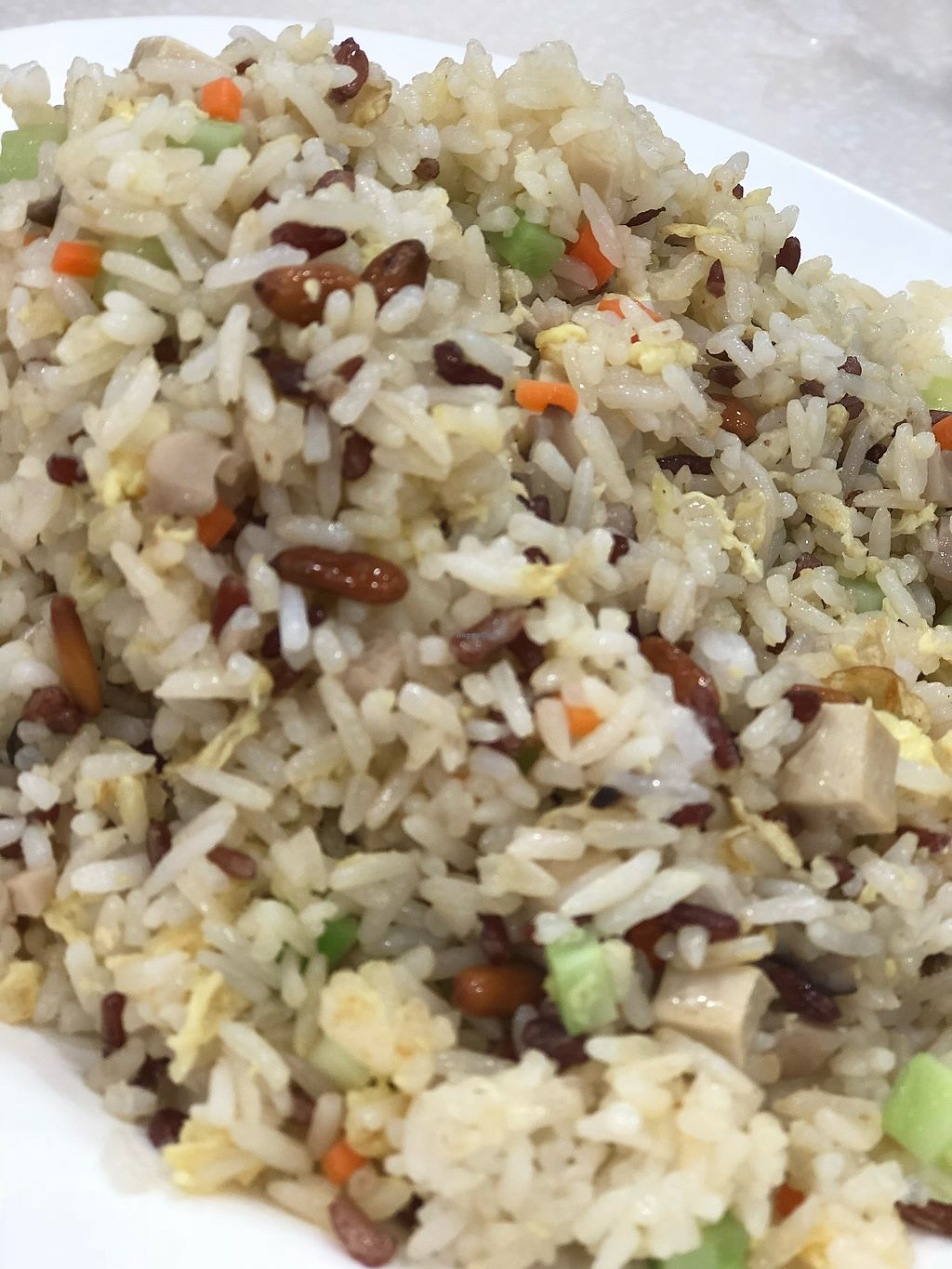 "Photo of Amitabha Vegetarian  by <a href=""/members/profile/Greenmilo"">Greenmilo</a> <br/>Pine nut fried rice <br/> December 18, 2017  - <a href='/contact/abuse/image/52180/336859'>Report</a>"