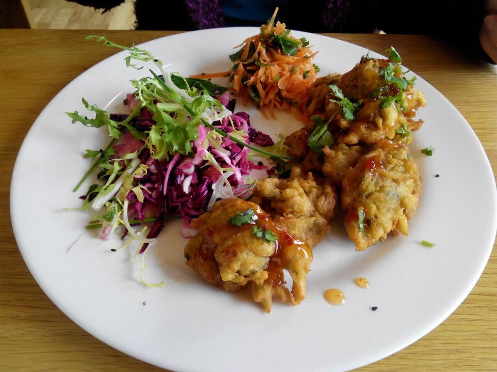 "Photo of Fresh Rootz  by <a href=""/members/profile/SimonGrogan"">SimonGrogan</a> <br/>Vegan Pakoras <br/> October 13, 2014  - <a href='/contact/abuse/image/52191/82784'>Report</a>"
