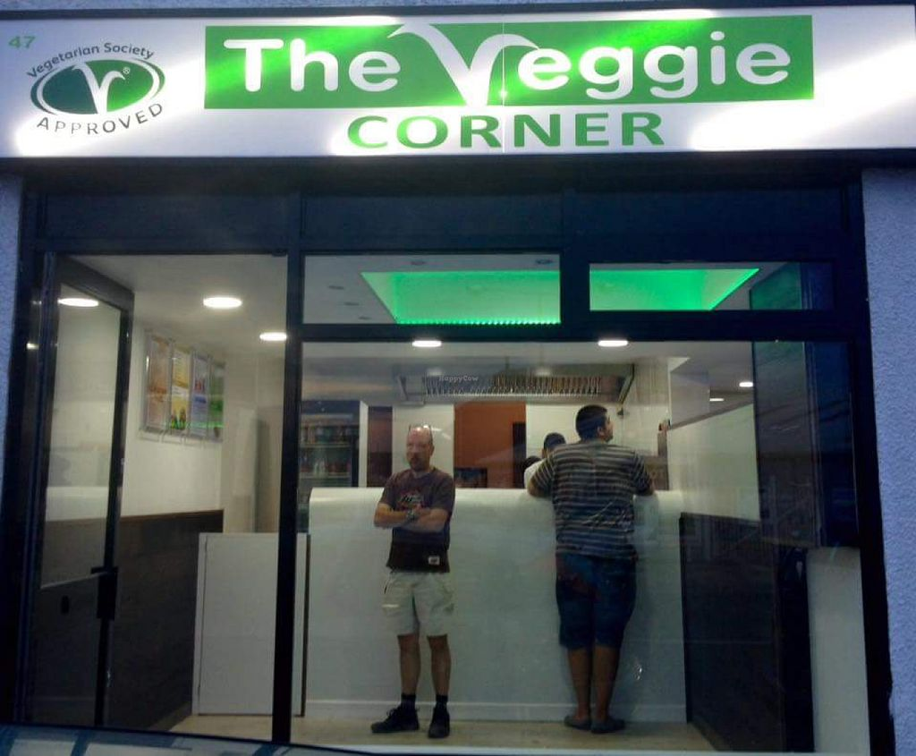 """Photo of The Veggie Corner  by <a href=""""/members/profile/Good%20for%20Vegans"""">Good for Vegans</a> <br/>New shop front <br/> August 4, 2015  - <a href='/contact/abuse/image/52193/112207'>Report</a>"""