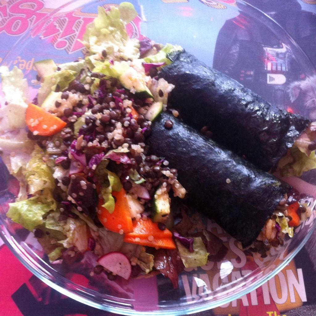 "Photo of My Kitch'n  by <a href=""/members/profile/Nibs"">Nibs</a> <br/>nori burritos, just the right amount of spice <br/> July 21, 2015  - <a href='/contact/abuse/image/52198/110345'>Report</a>"
