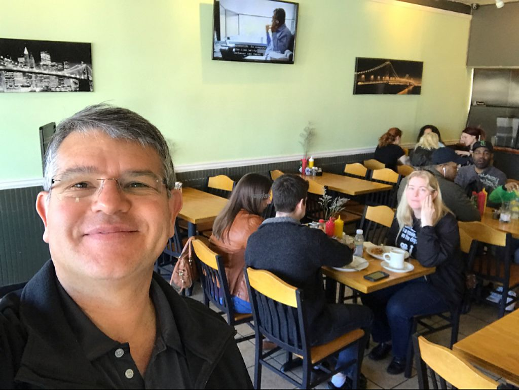 """Photo of Go Vegetarian Restaurant  by <a href=""""/members/profile/Luis"""">Luis</a> <br/>Great vegan breakfast with my non-vegan family.  <br/> March 19, 2017  - <a href='/contact/abuse/image/52205/238294'>Report</a>"""