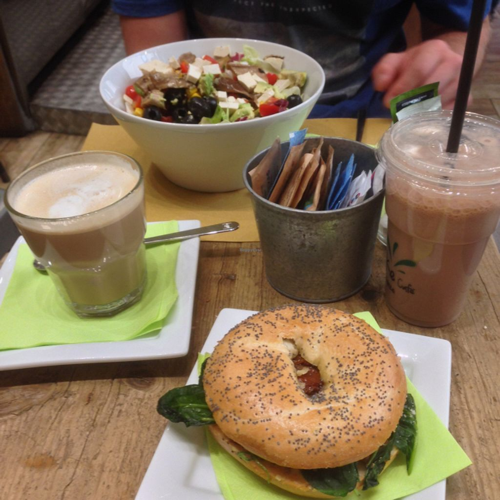 """Photo of Shake Cafe - Degli Avelli  by <a href=""""/members/profile/ErinSullivan"""">ErinSullivan</a> <br/>vegan deliciousness!  <br/> September 10, 2015  - <a href='/contact/abuse/image/52235/117238'>Report</a>"""