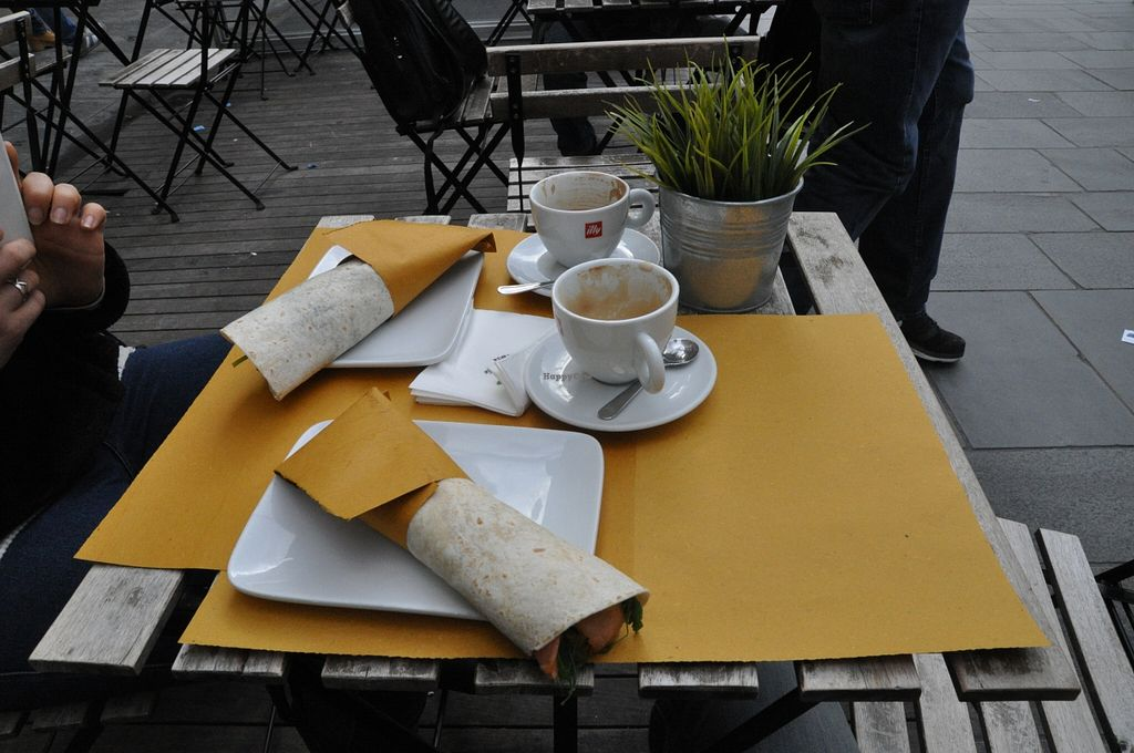 """Photo of Shake Cafe - Degli Avelli  by <a href=""""/members/profile/AvigailTurner"""">AvigailTurner</a> <br/>Coffee and wraps <br/> March 30, 2016  - <a href='/contact/abuse/image/52235/141985'>Report</a>"""