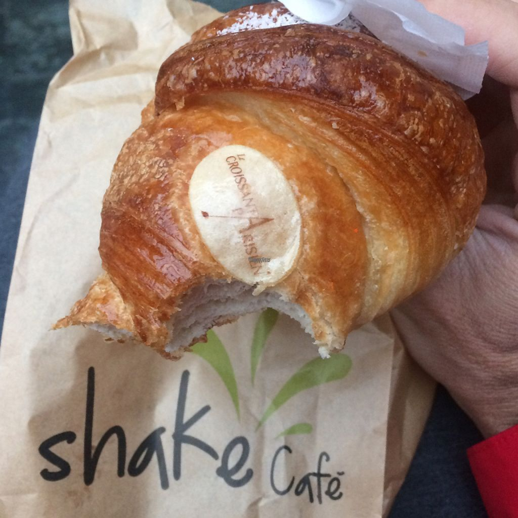 """Photo of Shake Cafe - Degli Avelli  by <a href=""""/members/profile/FatTonyBMX"""">FatTonyBMX</a> <br/>Apricot filled vegan croissant. delicious.  <br/> February 20, 2017  - <a href='/contact/abuse/image/52235/228486'>Report</a>"""