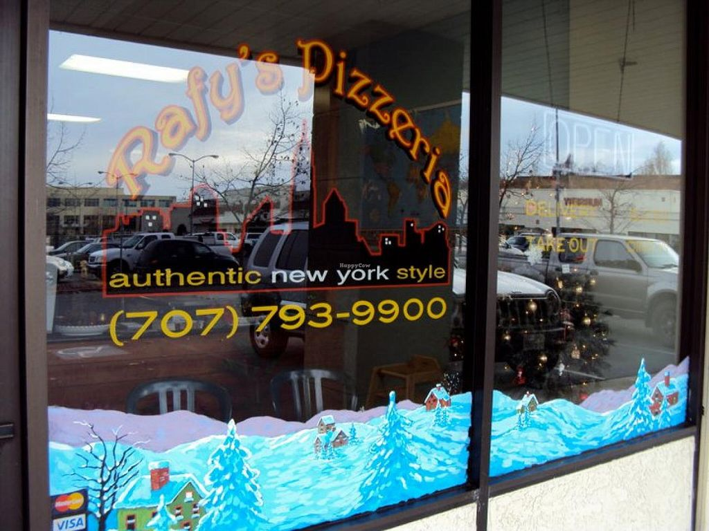 """Photo of Rafy's Pizzeria  by <a href=""""/members/profile/community"""">community</a> <br/>Rafy's Pizzeria <br/> October 24, 2014  - <a href='/contact/abuse/image/52260/83835'>Report</a>"""