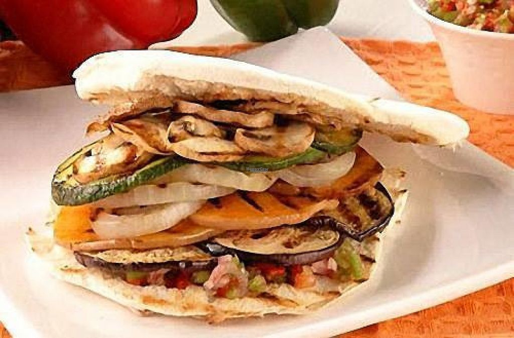 """Photo of Be Prana  by <a href=""""/members/profile/community"""">community</a> <br/>pita with roasted veggies  <br/> December 15, 2016  - <a href='/contact/abuse/image/52281/201349'>Report</a>"""