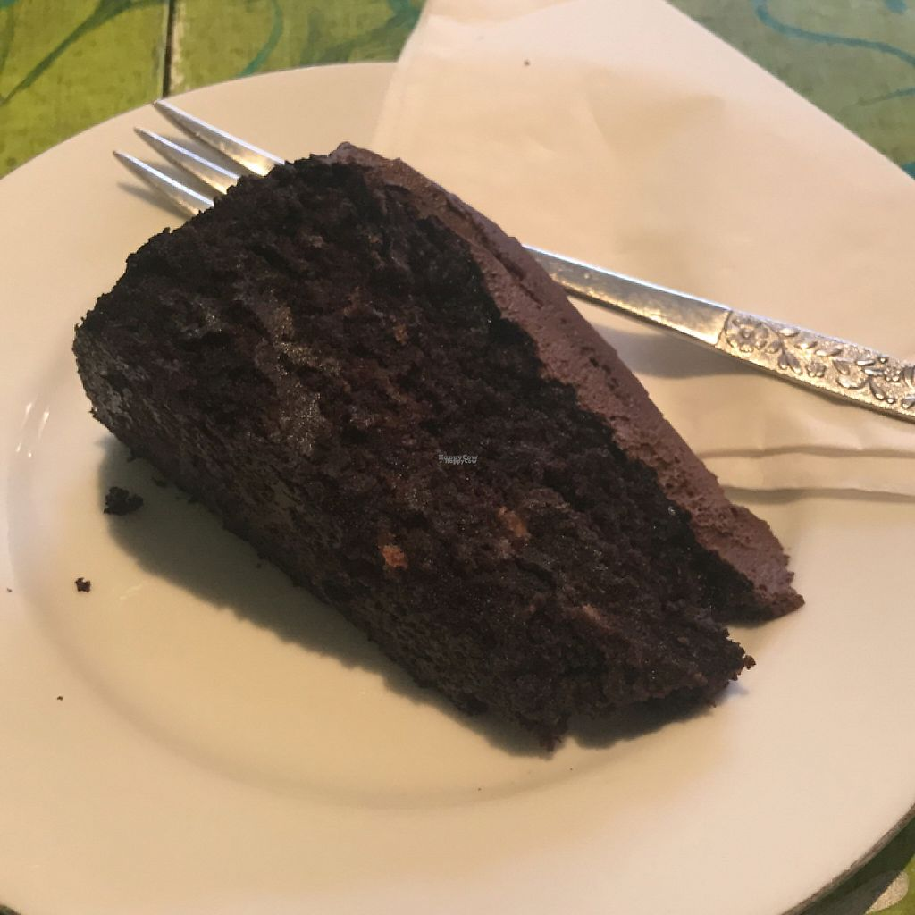 """Photo of Mudlarks Garden Cafe  by <a href=""""/members/profile/Oxleym08"""">Oxleym08</a> <br/>chocolate courgette cake  <br/> April 7, 2017  - <a href='/contact/abuse/image/52289/245498'>Report</a>"""