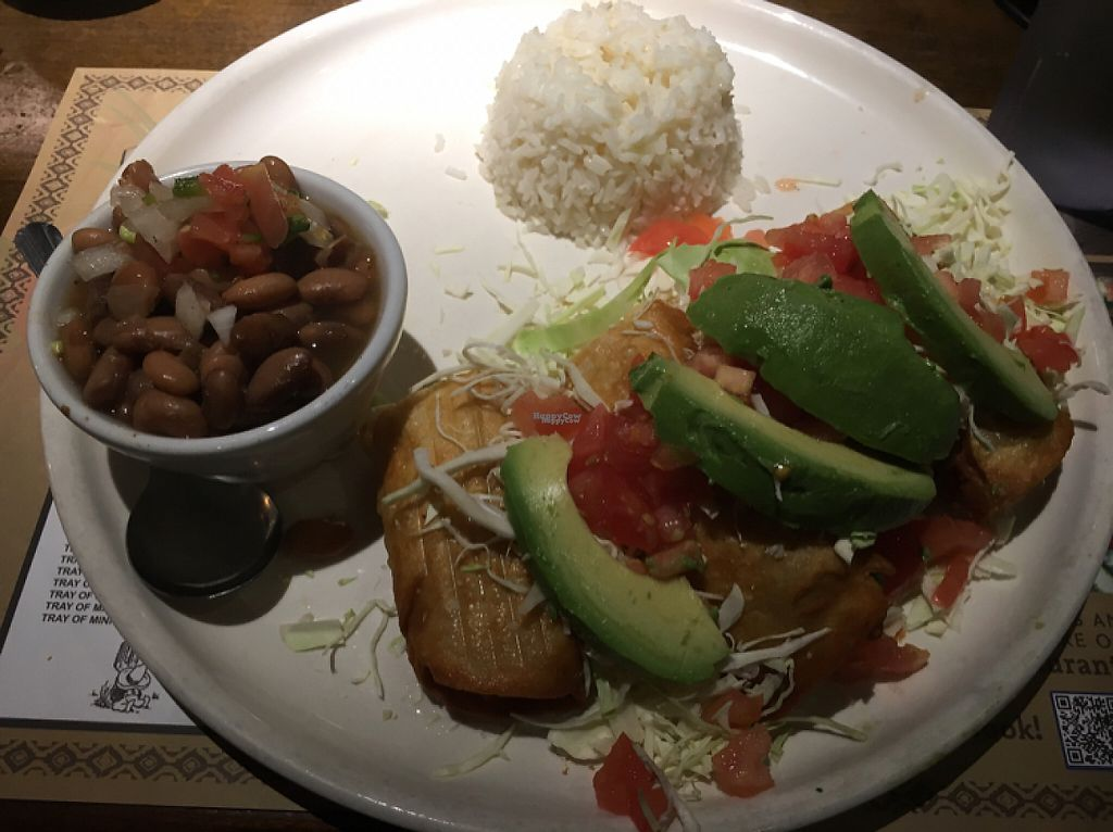"Photo of Paco's Mexican Restaurant  by <a href=""/members/profile/BreakerofChains"">BreakerofChains</a> <br/>vegan potato flautas  <br/> January 16, 2017  - <a href='/contact/abuse/image/52308/212389'>Report</a>"