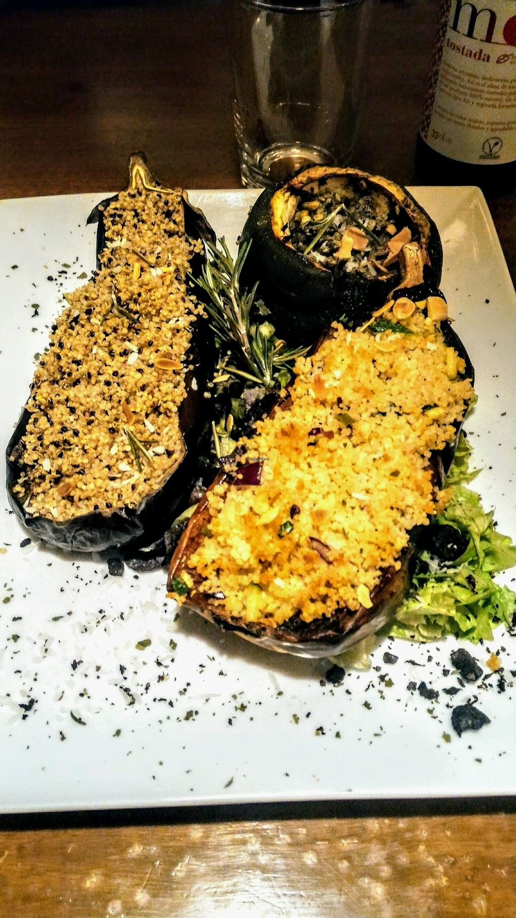 "Photo of Fargo  by <a href=""/members/profile/NaamaTanne"">NaamaTanne</a> <br/>Eggplant and pumpkin stuffed with quinoa and lentils <br/> September 28, 2017  - <a href='/contact/abuse/image/52314/309444'>Report</a>"