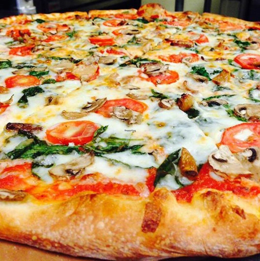 """Photo of Five Points Pizza  by <a href=""""/members/profile/community"""">community</a> <br/>Veggie Slice <br/> October 29, 2014  - <a href='/contact/abuse/image/52346/225549'>Report</a>"""