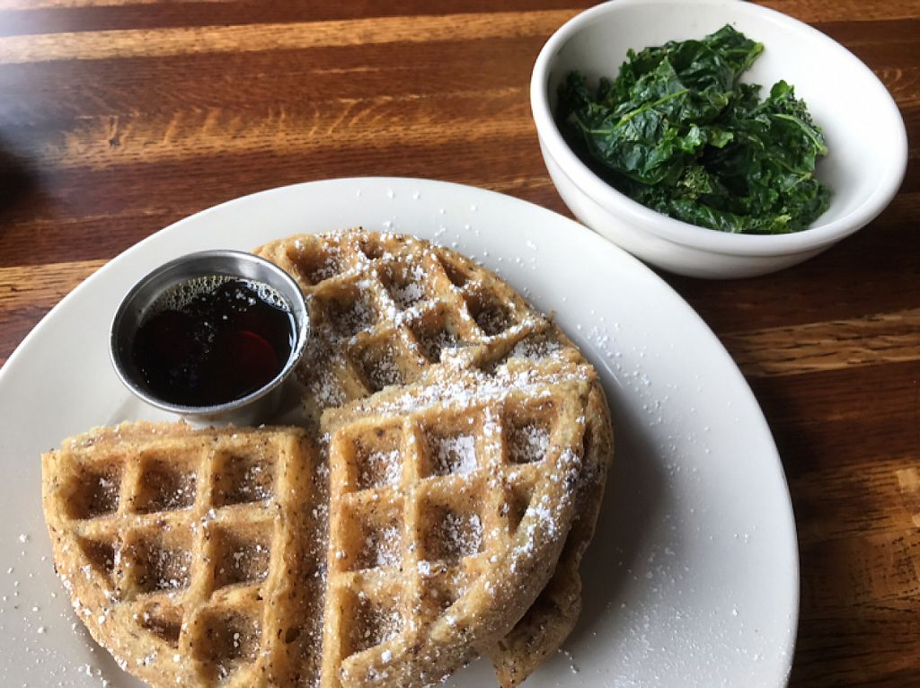 "Photo of The Post  by <a href=""/members/profile/CyndiClausen"">CyndiClausen</a> <br/>waffles and kale  <br/> May 29, 2017  - <a href='/contact/abuse/image/52347/263787'>Report</a>"