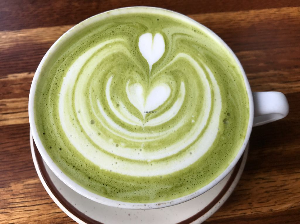 "Photo of The Post  by <a href=""/members/profile/CyndiClausen"">CyndiClausen</a> <br/>green tea latte  <br/> May 29, 2017  - <a href='/contact/abuse/image/52347/263788'>Report</a>"