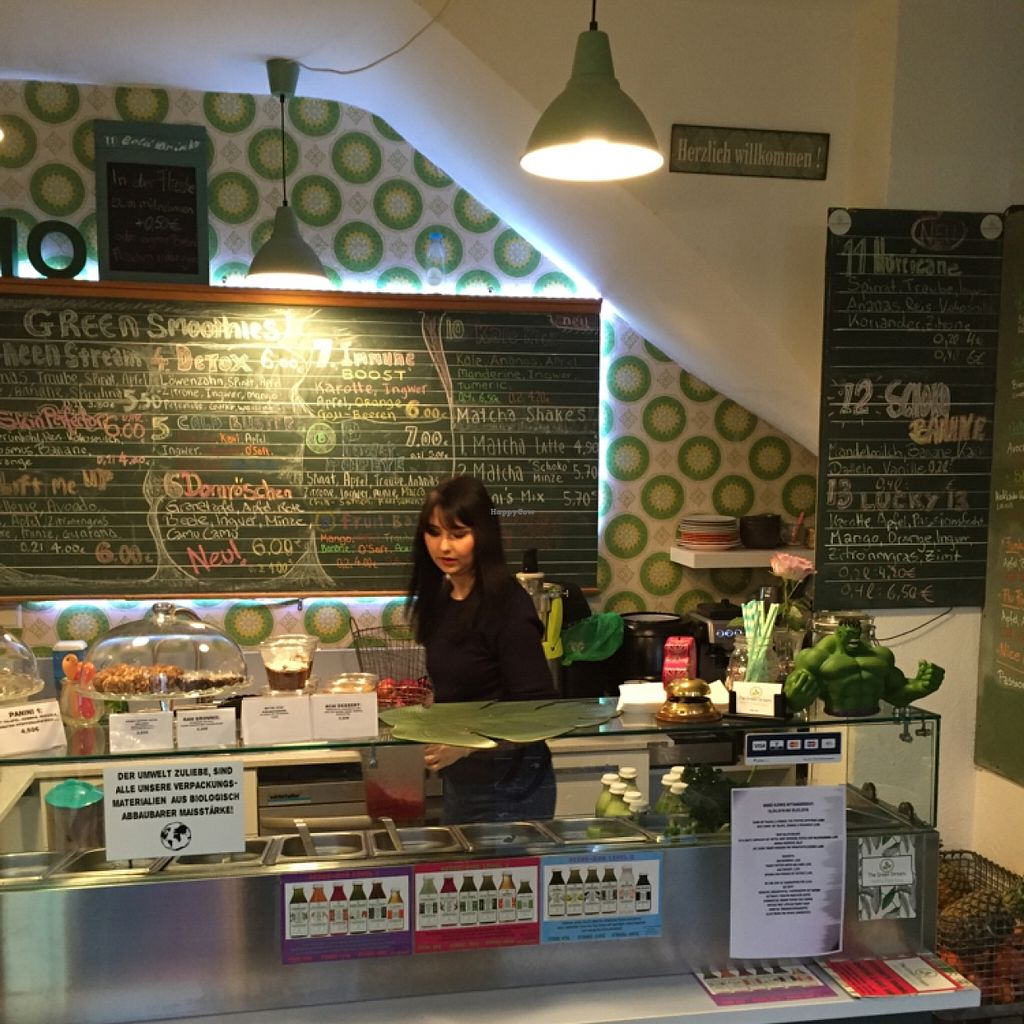 """Photo of The Green Stream  by <a href=""""/members/profile/Kelvinrynhart"""">Kelvinrynhart</a> <br/>the Green Stream organic juice bar <br/> February 3, 2016  - <a href='/contact/abuse/image/52352/134925'>Report</a>"""