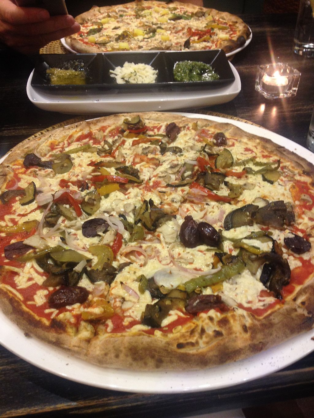 """Photo of Pizza di Rocco  by <a href=""""/members/profile/Ezey11"""">Ezey11</a> <br/> vedure with vegan cheese <br/> September 30, 2017  - <a href='/contact/abuse/image/52393/310056'>Report</a>"""