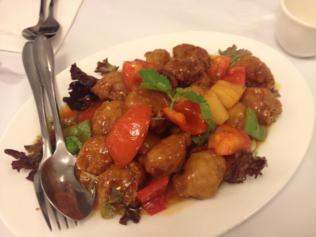 "Photo of Chanhouse Healthy Vegetarian Option  by <a href=""/members/profile/Buddy45"">Buddy45</a> <br/>sweet and sour pork <br/> December 20, 2015  - <a href='/contact/abuse/image/52471/129176'>Report</a>"