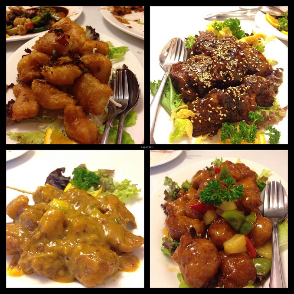 "Photo of Chanhouse Healthy Vegetarian Option  by <a href=""/members/profile/sarah%20m"">sarah m</a> <br/>Spicy squid, black vinegar spare ribs, chicken satay and sweet & sour pork! <br/> January 10, 2015  - <a href='/contact/abuse/image/52471/89962'>Report</a>"