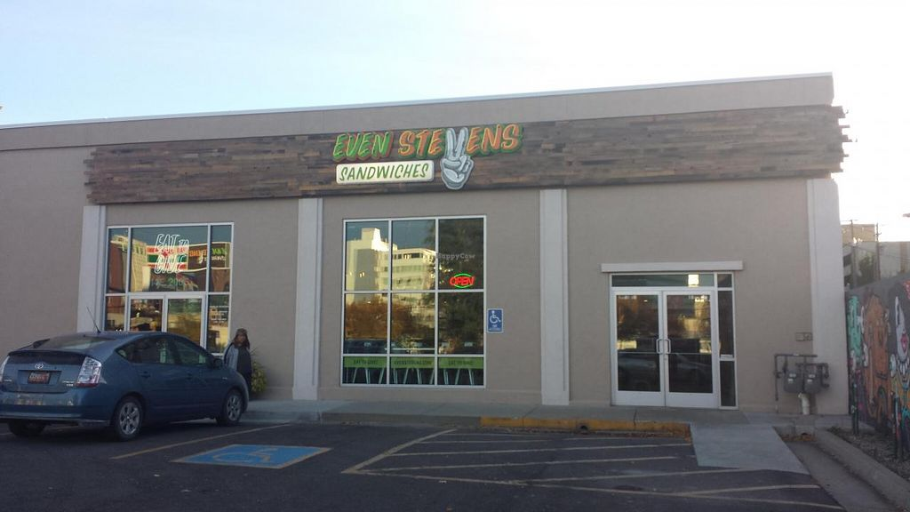 Photo of Even Stevens Sandwiches  by Navegante <br/>Exterior,  Oct 2014 <br/> October 26, 2014  - <a href='/contact/abuse/image/52476/83992'>Report</a>