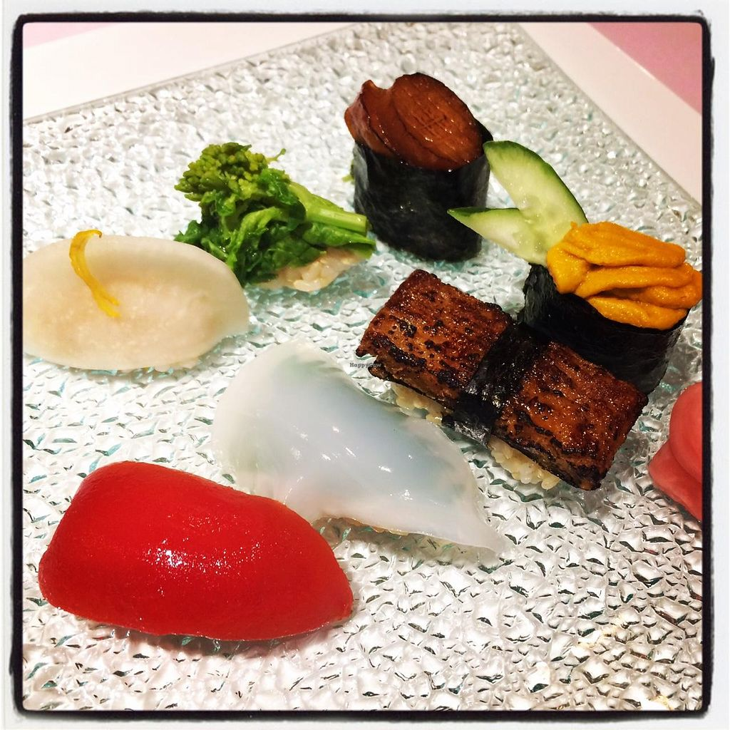 """Photo of Little-Heaven  by <a href=""""/members/profile/happycyclist"""">happycyclist</a> <br/>Vega sushi. Wow! <br/> December 22, 2014  - <a href='/contact/abuse/image/52487/88470'>Report</a>"""