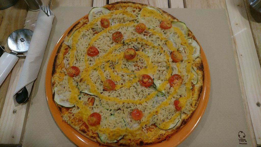 """Photo of Dolce Pizza y Los Veganos - Hipolit Lazaro  by <a href=""""/members/profile/TanyaClapper"""">TanyaClapper</a> <br/>pizza <br/> October 4, 2017  - <a href='/contact/abuse/image/52506/311607'>Report</a>"""