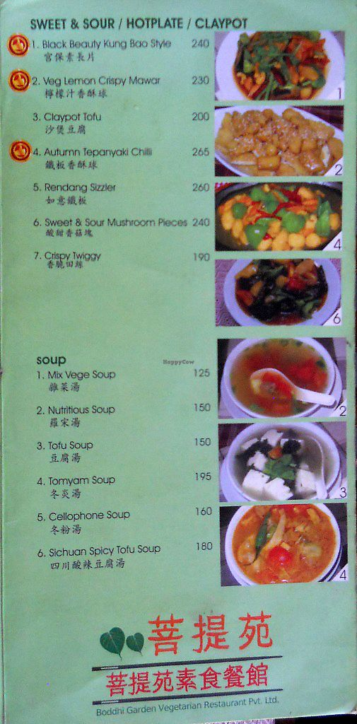 """Photo of Boddhi Garden Vegetarian Restaurant  by <a href=""""/members/profile/Masala-Dosa"""">Masala-Dosa</a> <br/>menu <br/> October 13, 2017  - <a href='/contact/abuse/image/52508/314785'>Report</a>"""