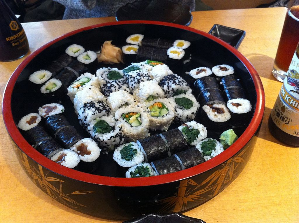 "Photo of Ichiban Sushi  by <a href=""/members/profile/Tobias%20Boletaria"">Tobias Boletaria</a> <br/>Vegan Sushi <br/> September 8, 2015  - <a href='/contact/abuse/image/5251/116789'>Report</a>"