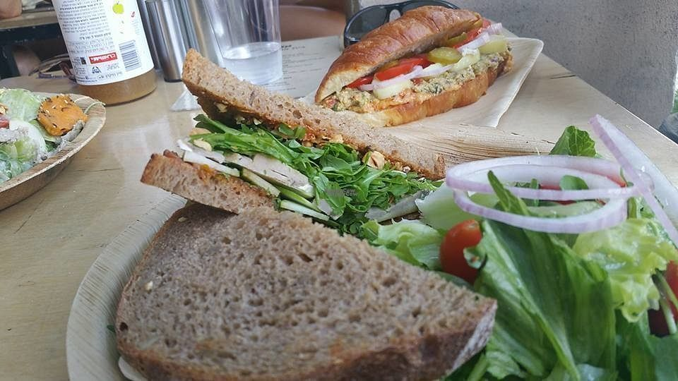 """Photo of Alegria  by <a href=""""/members/profile/Atar%20Herbivora"""">Atar Herbivora</a> <br/>Vegan Camembert sandwich + fricassee croisant <br/> October 11, 2016  - <a href='/contact/abuse/image/52539/181484'>Report</a>"""