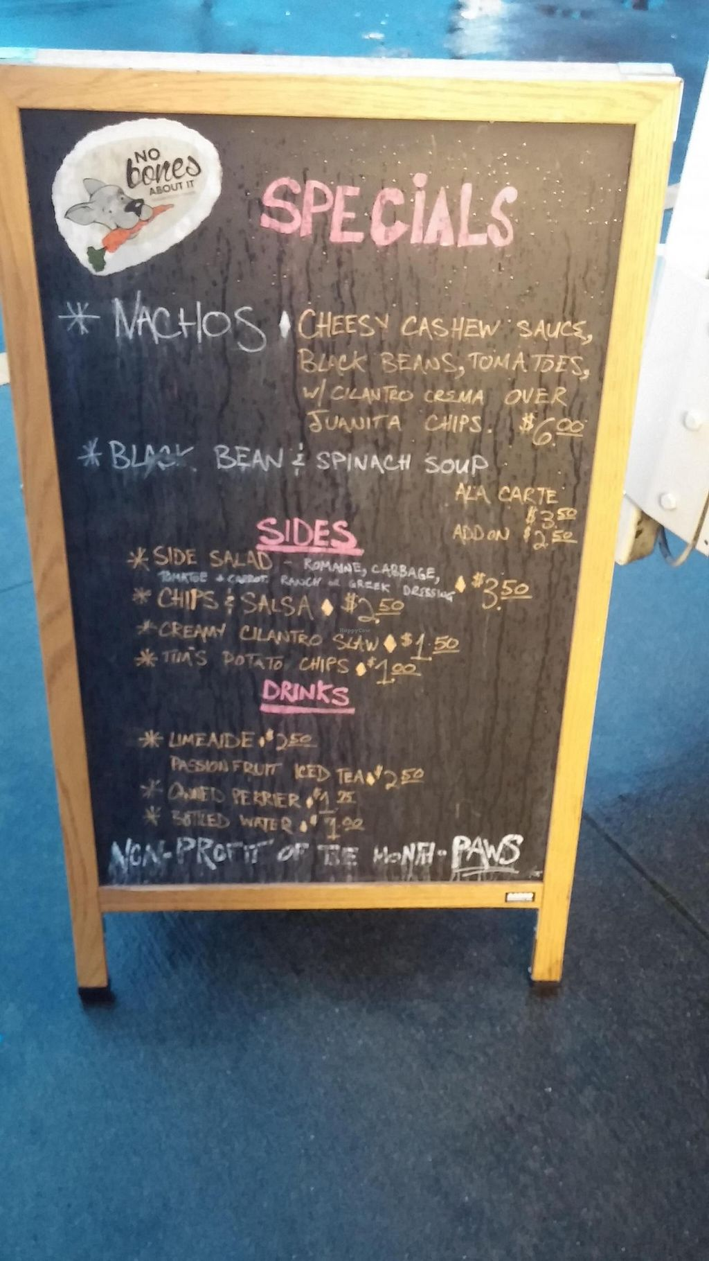 """Photo of CLOSED: No Bones About It - Food Truck  by <a href=""""/members/profile/happytheclown37"""">happytheclown37</a> <br/>More menu items <br/> November 16, 2014  - <a href='/contact/abuse/image/52569/85882'>Report</a>"""